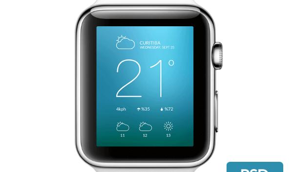 apple watch template 1