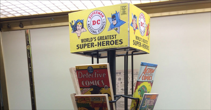 Hey kids, mini comic spinner rack coming soon from Cryptozoic Entertainment