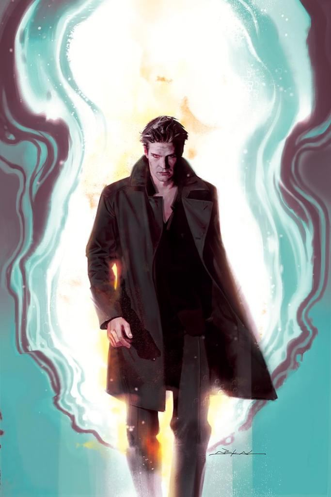 Angel Season 11 #1 Variant Cover by Jeff Dekal