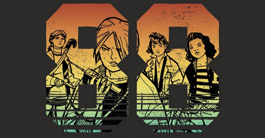 Cliff Chiang launches 'Paper Girls' T-shirt shop