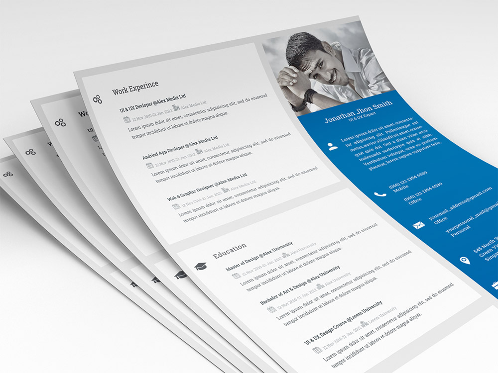 Expert Resume -Free Modern and Clean Resume for Professional