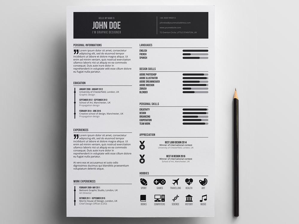 design resume 2018 - Ecosia