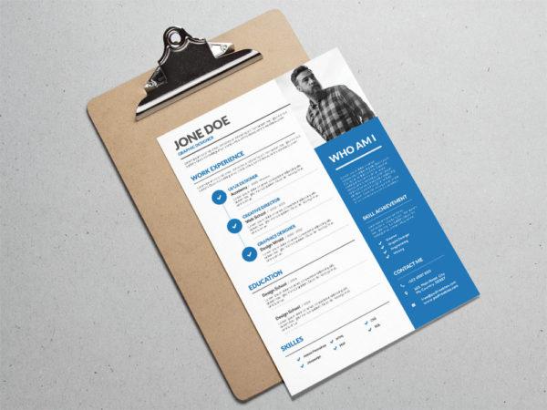 creative design resume templates - Pinarkubkireklamowe