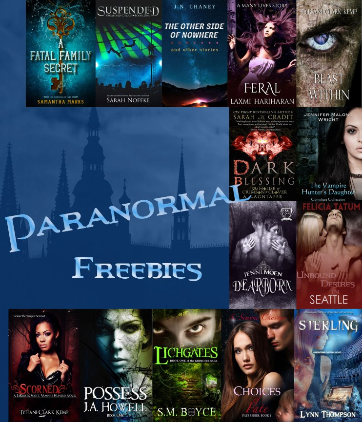 paranormal freebies