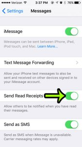 How to Let People Know That You Read Their Text Messages on an iPhone 5