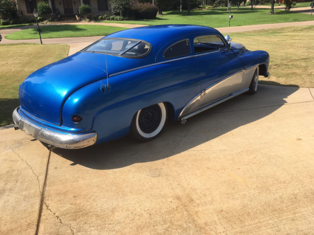 Baby Merc Classic 1949 Chopped Mercury 2 Door Custom Merc Hotrod Lead Sled