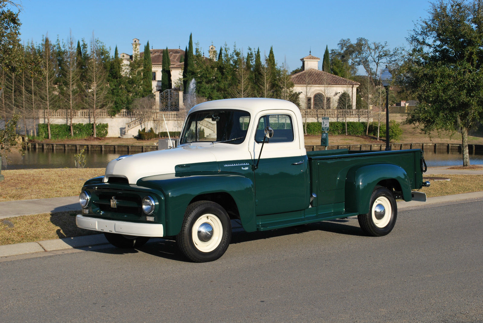 1957 Cars Restored Or Wallpapers 1954 International R100 1 2 Ton Truck Frame Off Restored