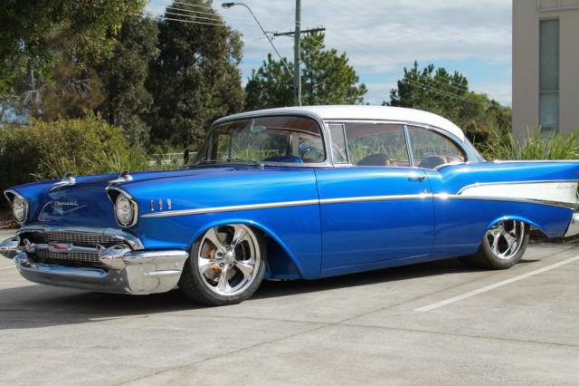 Classic Car Wallpaper 57 Chevy 1957 Chevrolet Belair Big Block 502 Show Winner Chip Foose