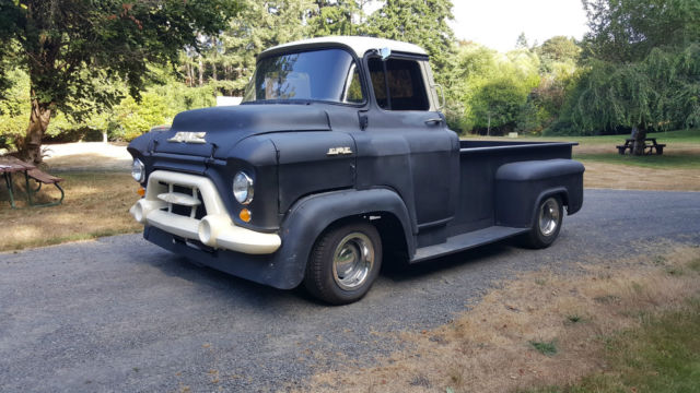 1957 Cars Restored Or Wallpapers 1957 Gmc Coe Chevrolet Truck Hot Rat Rod Chevy 1956 1955