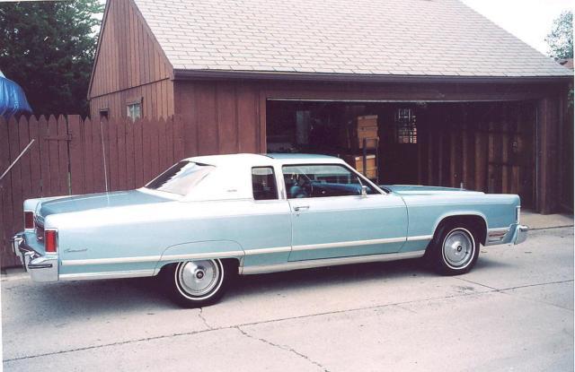 1975 lincoln continental town car