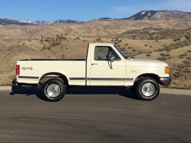 Low Mileage 100 All Original 1991 Ford F 150 Xlt