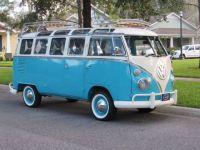 VW Bus 23 Windows Samba with Roof Rack, Safari Windows and ...
