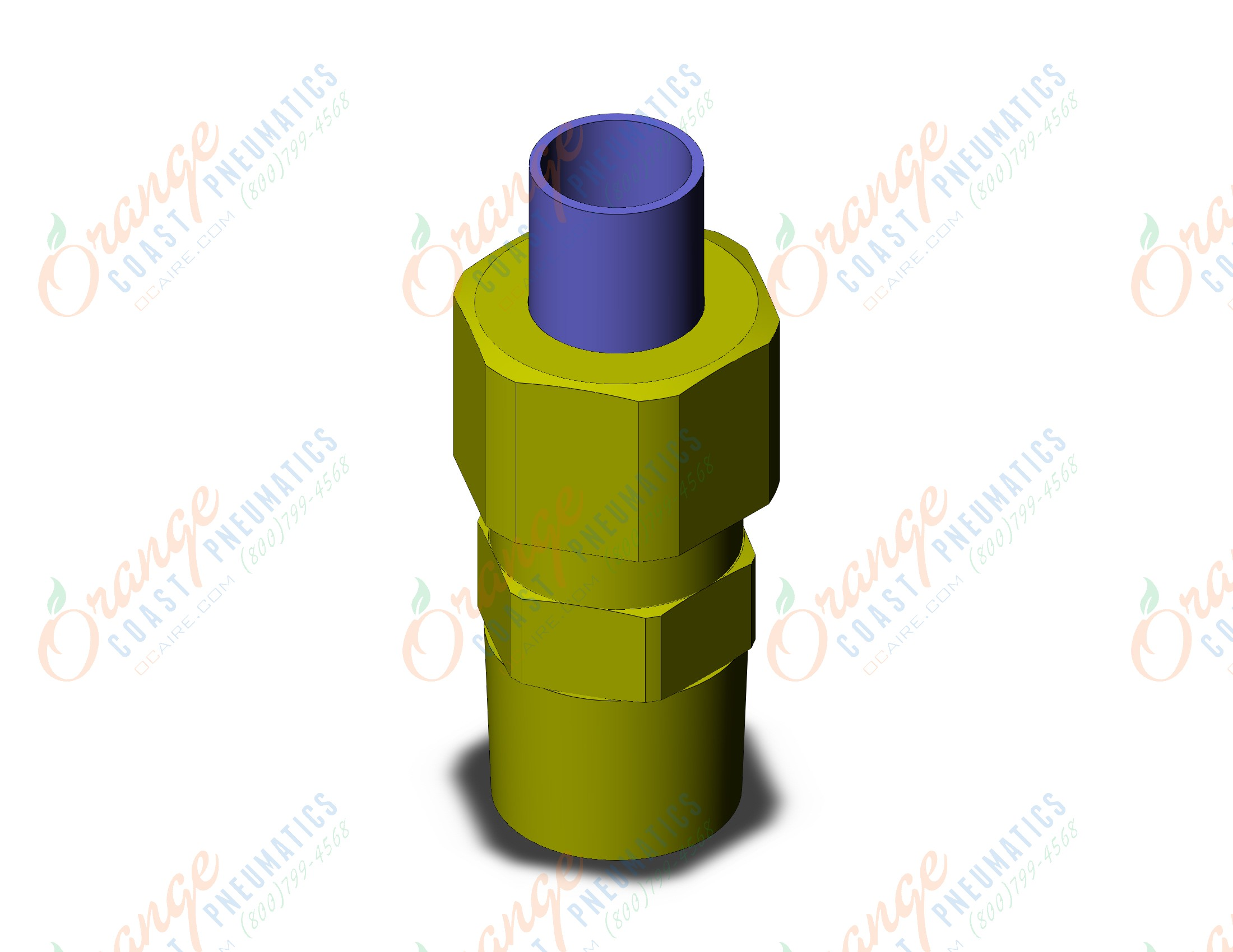 Fitting Stekker Smc Kfh06 01 Fitting Male Connector Kf Insert Fittings Sold In Packages Of 10 Price Is Per Piece