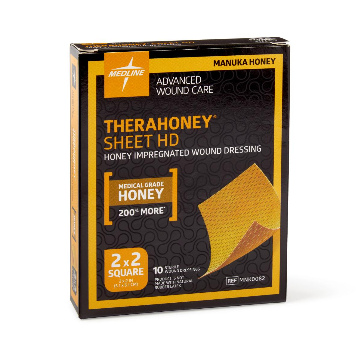 Dressing 200 Cm Therahoney Hd Honey Wound Dressings 10 Each Box