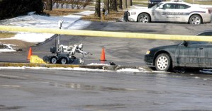 Suspicious package in Corinth Square deemed safe