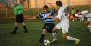 Gallery: Boys Soccer vs Olathe East