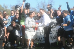 Football Coach Wins Award from Chiefs