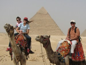 East Graduate's Study Abroad in Egypt Coincided with Revolts