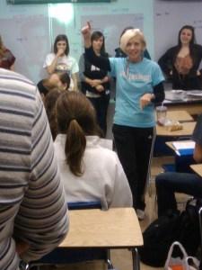 Arndt-Helgesen Voted NHS Teacher of the Year
