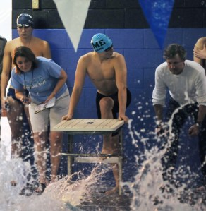 Boys' Swim and Dive Team Wins State