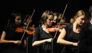 Orchestra Students Take First and Second at the Heritage Music Festival
