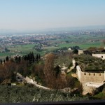 A scenic view from Assisi, Italy. Photo by Molly Howland.