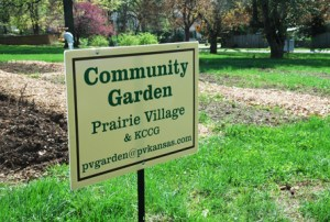 Two New Community Gardens are Now Available in Prairie Village