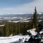 Jacob Milgrim hit the slopes over spring break.