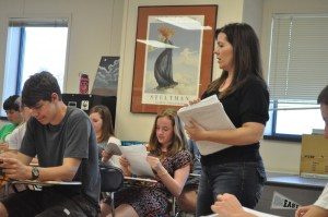 English Teacher Spring Gehring-Lowery Leaving to Teach in Texas