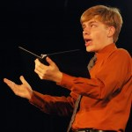 """Justin Armer performs his Prose piece """"Beauty and the Beast."""""""