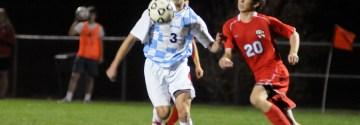 Gallery:  Boys' Soccer vs. Olathe North