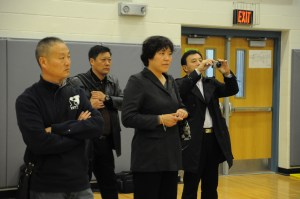 Chinese Professors, Deans Tour East