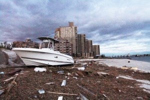 Sophomore's Sister Loses Home and Business in Hurricane Sandy