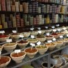 Spices in a Palestinian market in Hebron.