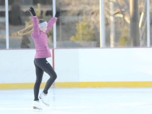 Freshman Expresses her Passion for Ice Skating