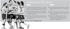 Distinguishing the Leagues; artwork by Grace Heitmann