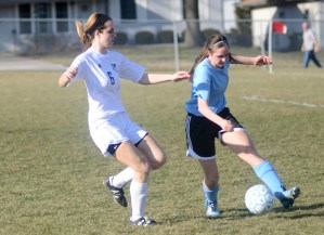 Gallery: Girls' Soccer Blue & Black Scrimmage
