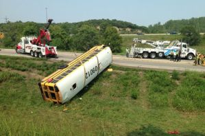 Pembroke Hill Bus Flips Causing Injuries