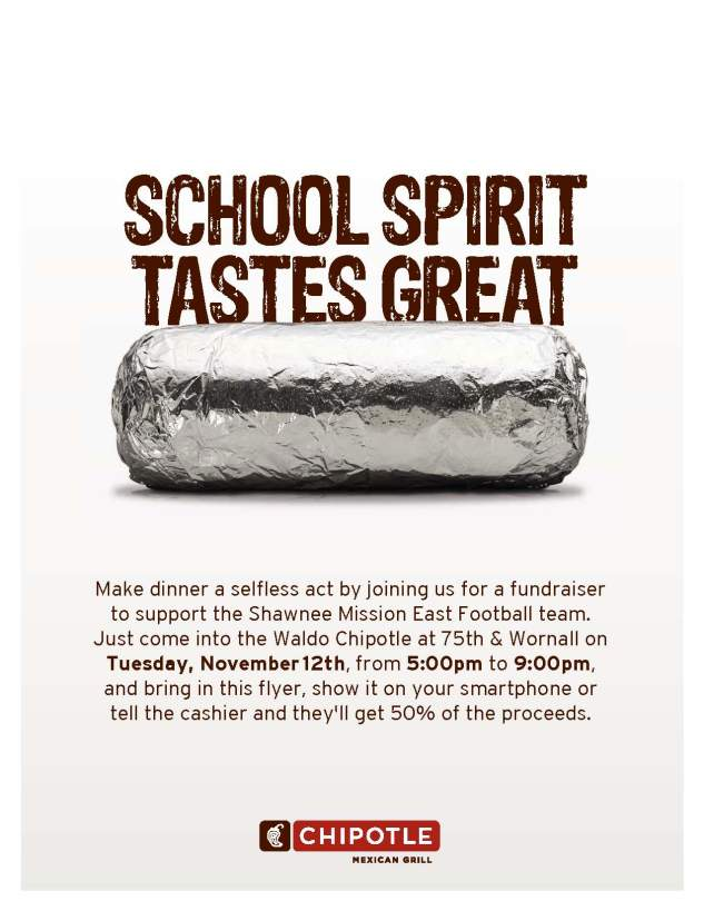 Chipolte Flyer