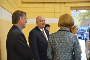 Undersecretary of Army Visits Brookwood Elementary