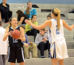 Gallery: Girls' Basketball Blue and Black Scrimmage
