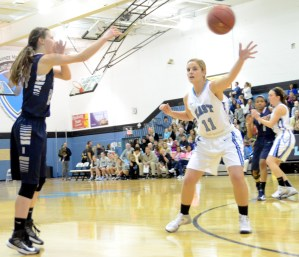 Recap: Girls' Basketball vs. Olathe North