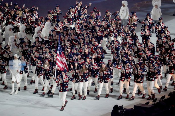 Sochi Winter Olympics Opening Ceremony