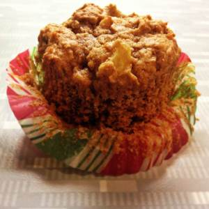 Baking Bad: Applesauce Walnut Muffins
