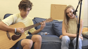 Blue Couch Session: Chloe Kerwin and Oscar Motsinger
