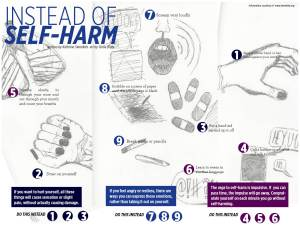 What To Do Instead of Self-Harm