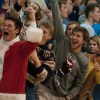 """East students cheer  after a basket. The student section theme was """"ugly sweater."""" Photo by James Wooldridge"""