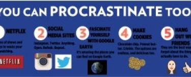 Procrastination graphic #2