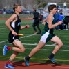Sophomore Jack Young sprints to pass his opponent. Photo by Kaitlyn Stratman