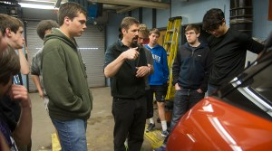 Making His Choice: Auto Tech Teacher Chooses Passion Over Profit